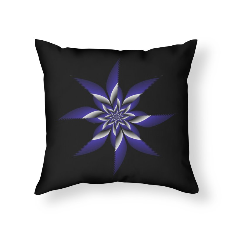 Ninja Star Pincher Home Throw Pillow by nickaker's Artist Shop