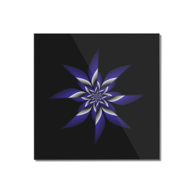 Ninja Star Pincher Home Mounted Acrylic Print by nickaker's Artist Shop