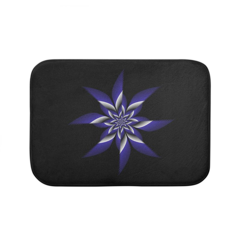 Ninja Star Pincher Home Bath Mat by nickaker's Artist Shop