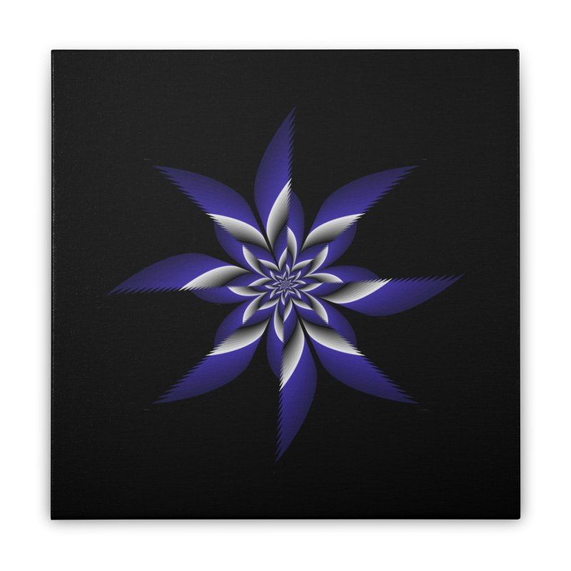 Ninja Star Pincher Home Stretched Canvas by nickaker's Artist Shop