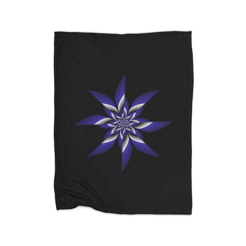 Ninja Star Pincher Home Fleece Blanket Blanket by nickaker's Artist Shop