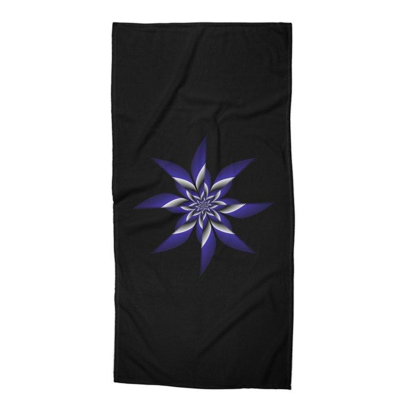 Ninja Star Pincher Accessories Beach Towel by nickaker's Artist Shop