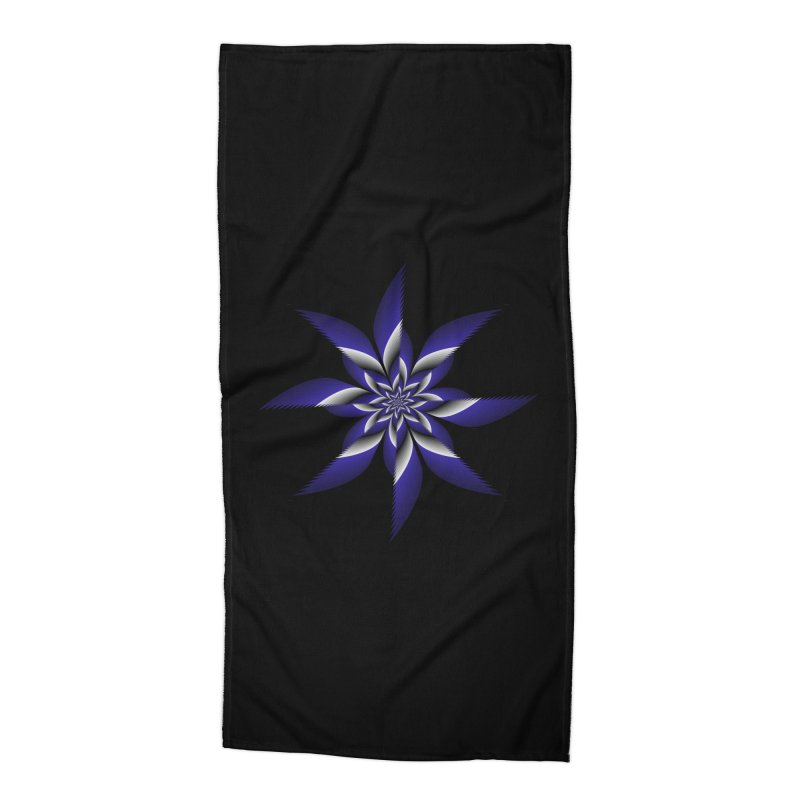 Ninja Star Pincher Accessories Beach Towel by nickaker's Artist Shop