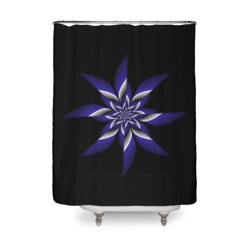 Ninja Star Pincher Home Shower Curtain by nickaker's Artist Shop