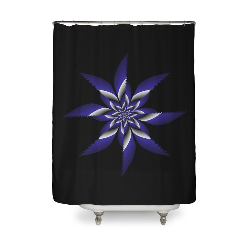 Ninja Star Pincher Home Shower Curtain by nickaker's Artist Shop
