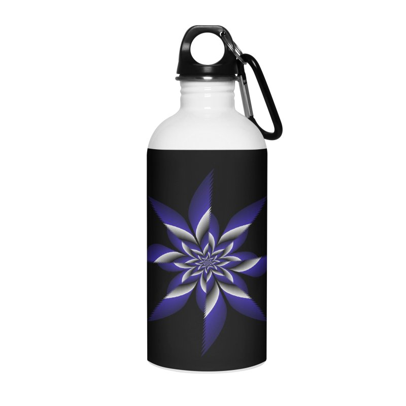 Ninja Star Pincher Accessories Water Bottle by nickaker's Artist Shop