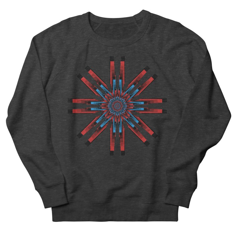 Gears - RvB Men's French Terry Sweatshirt by nickaker's Artist Shop