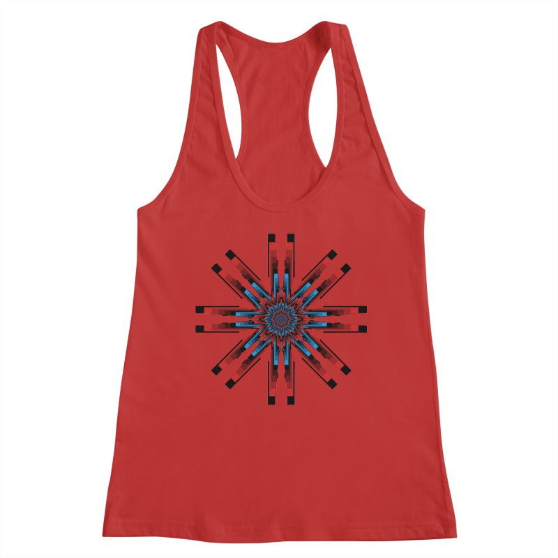 Gears - RvB Women's Racerback Tank by nickaker's Artist Shop