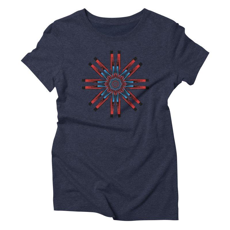 Gears - RvB Women's Triblend T-Shirt by nickaker's Artist Shop
