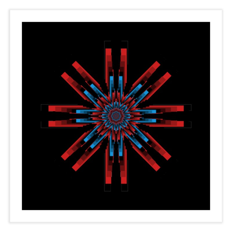 Gears - RvB Home Fine Art Print by nickaker's Artist Shop