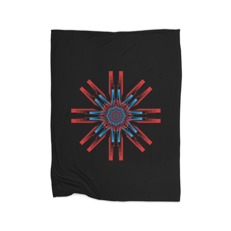 Gears - RvB Home Fleece Blanket Blanket by nickaker's Artist Shop