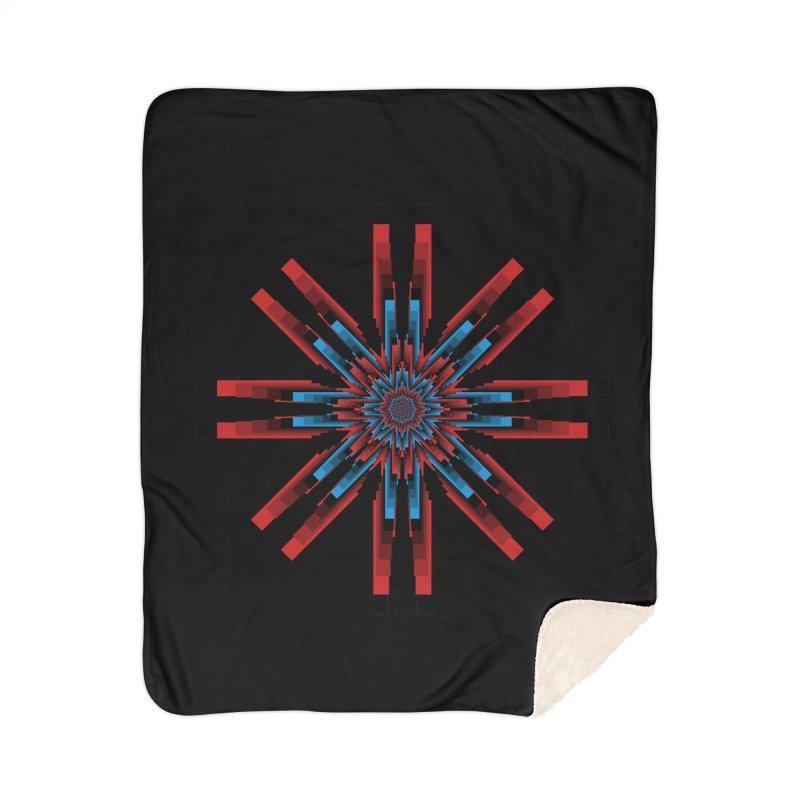 Gears - RvB Home Sherpa Blanket Blanket by nickaker's Artist Shop