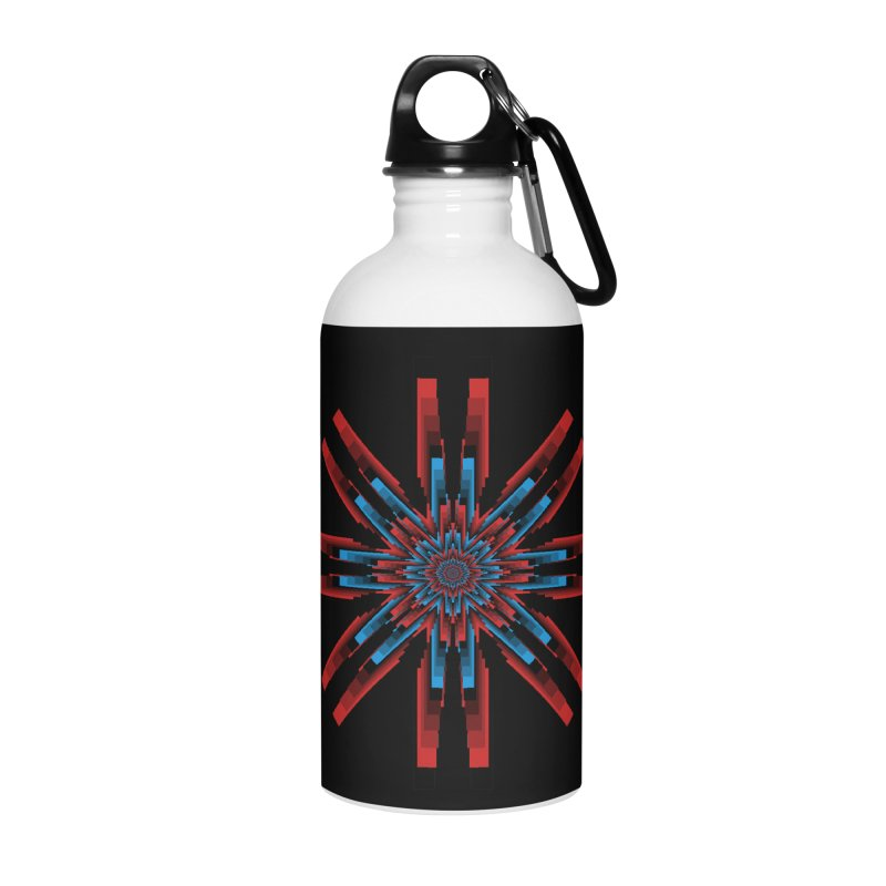 Gears - RvB Accessories Water Bottle by nickaker's Artist Shop