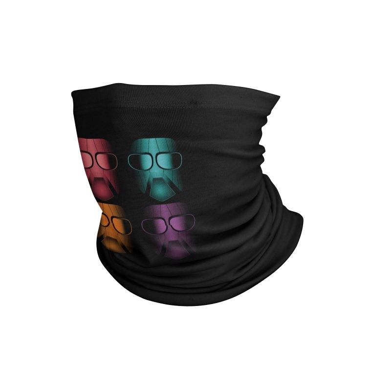 4 Masks Zwei Accessories Neck Gaiter by nickaker's Artist Shop