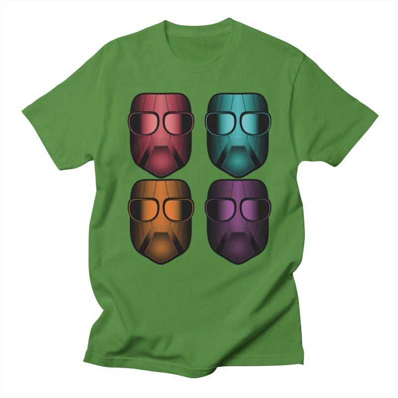 4 Masks Zwei Men's T-Shirt by nickaker's Artist Shop