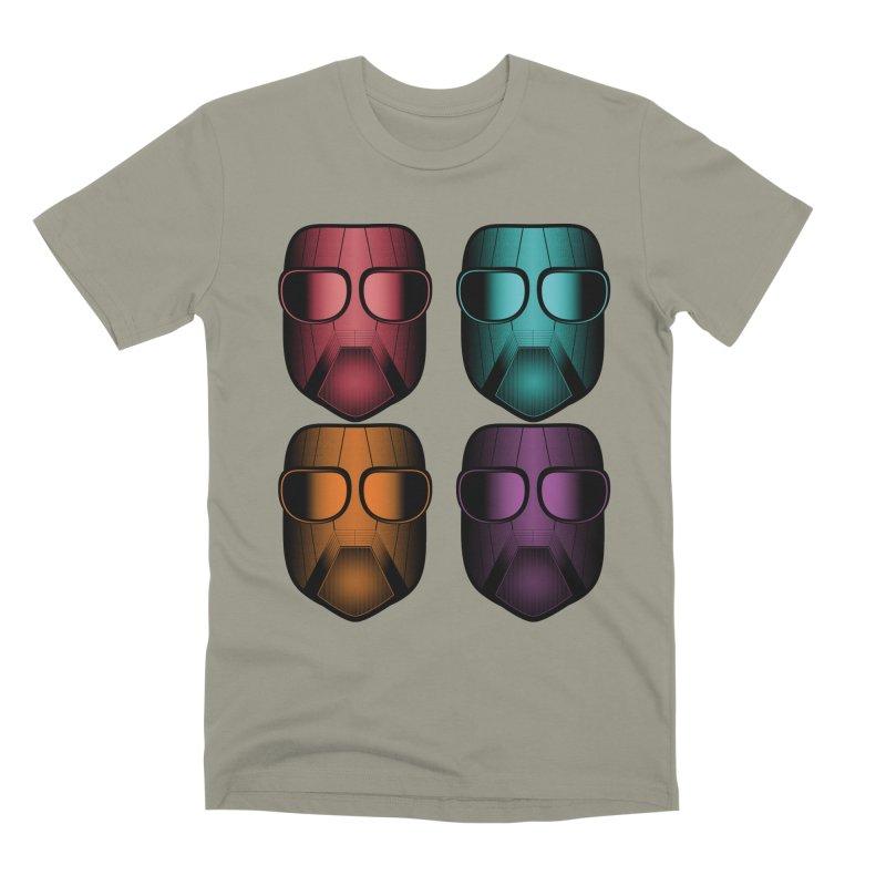 4 Masks Zwei Men's Premium T-Shirt by nickaker's Artist Shop