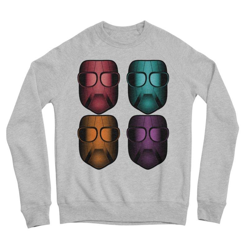 4 Masks Zwei Men's Sponge Fleece Sweatshirt by nickaker's Artist Shop