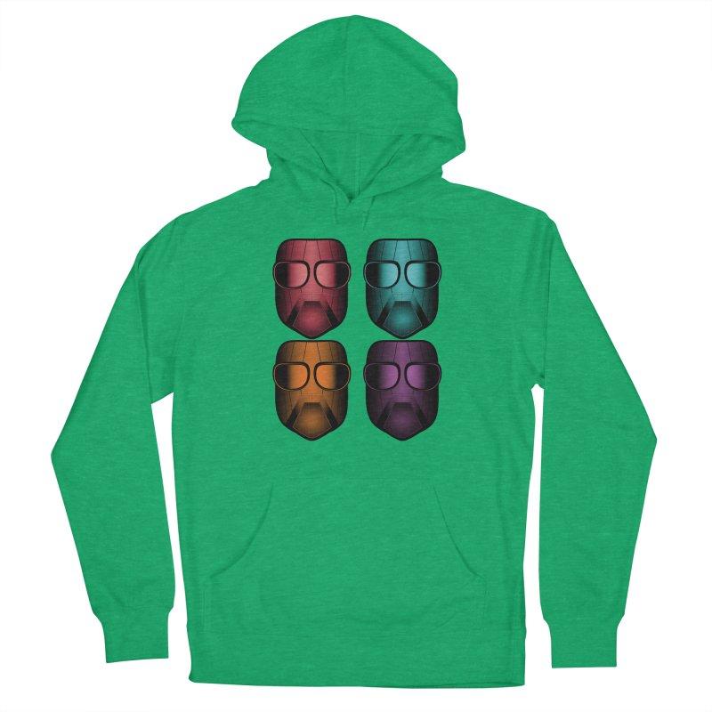4 Masks Zwei Men's Pullover Hoody by nickaker's Artist Shop