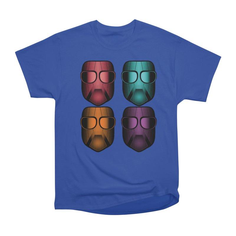 4 Masks Zwei Women's Heavyweight Unisex T-Shirt by nickaker's Artist Shop
