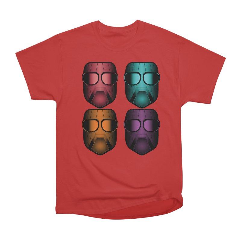 4 Masks Zwei Men's Heavyweight T-Shirt by nickaker's Artist Shop