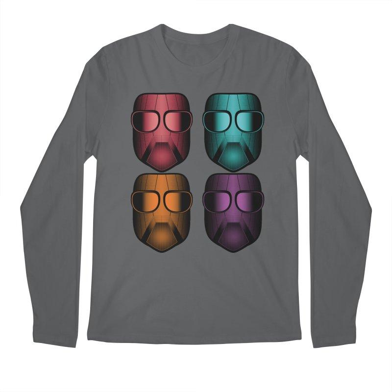 4 Masks Zwei Men's Longsleeve T-Shirt by nickaker's Artist Shop