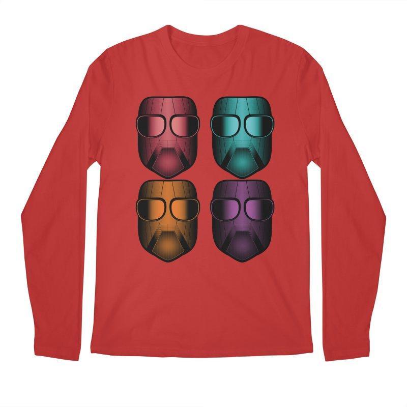4 Masks Zwei Men's Regular Longsleeve T-Shirt by nickaker's Artist Shop