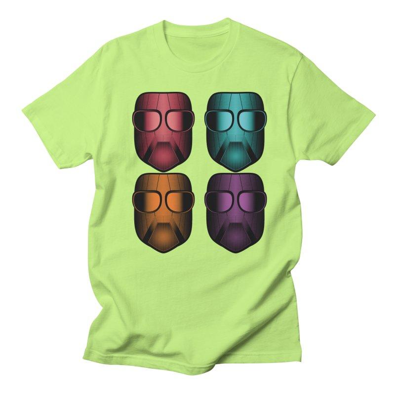 4 Masks Zwei Men's Regular T-Shirt by nickaker's Artist Shop