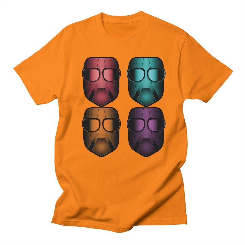 4 Masks Zwei Women's Regular Unisex T-Shirt by nickaker's Artist Shop