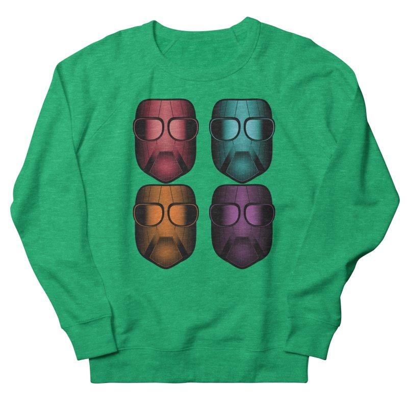 4 Masks Zwei Women's French Terry Sweatshirt by nickaker's Artist Shop