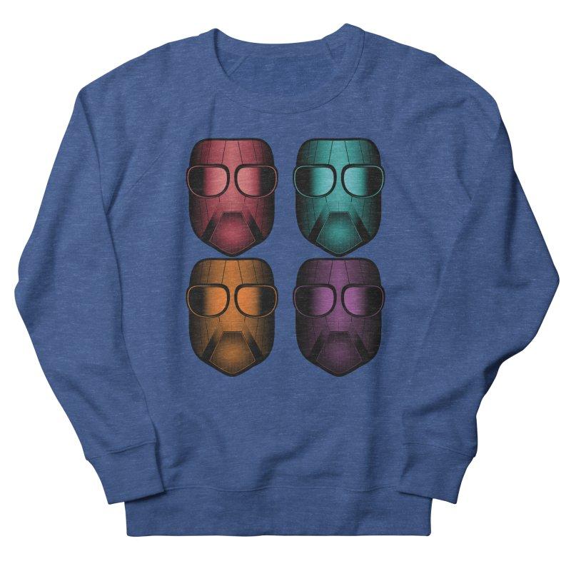 4 Masks Zwei Men's Sweatshirt by nickaker's Artist Shop