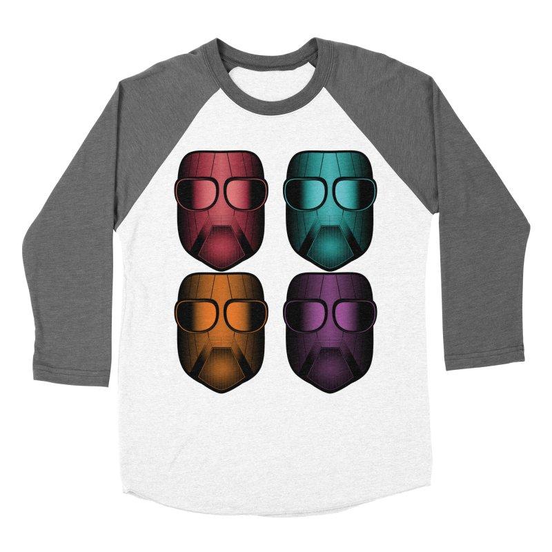 4 Masks Zwei Women's Baseball Triblend Longsleeve T-Shirt by nickaker's Artist Shop