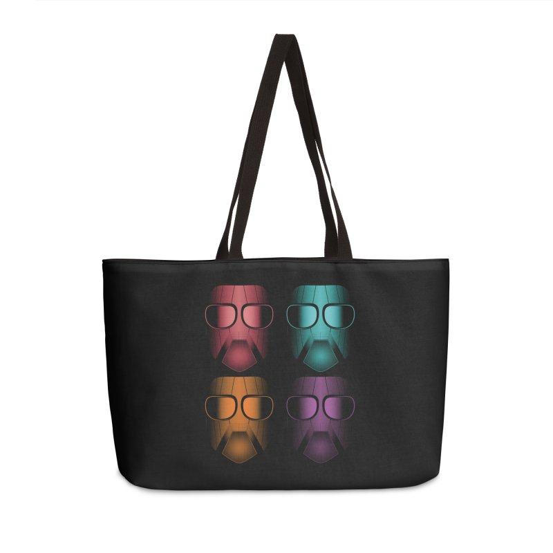 4 Masks Zwei Accessories Weekender Bag Bag by nickaker's Artist Shop