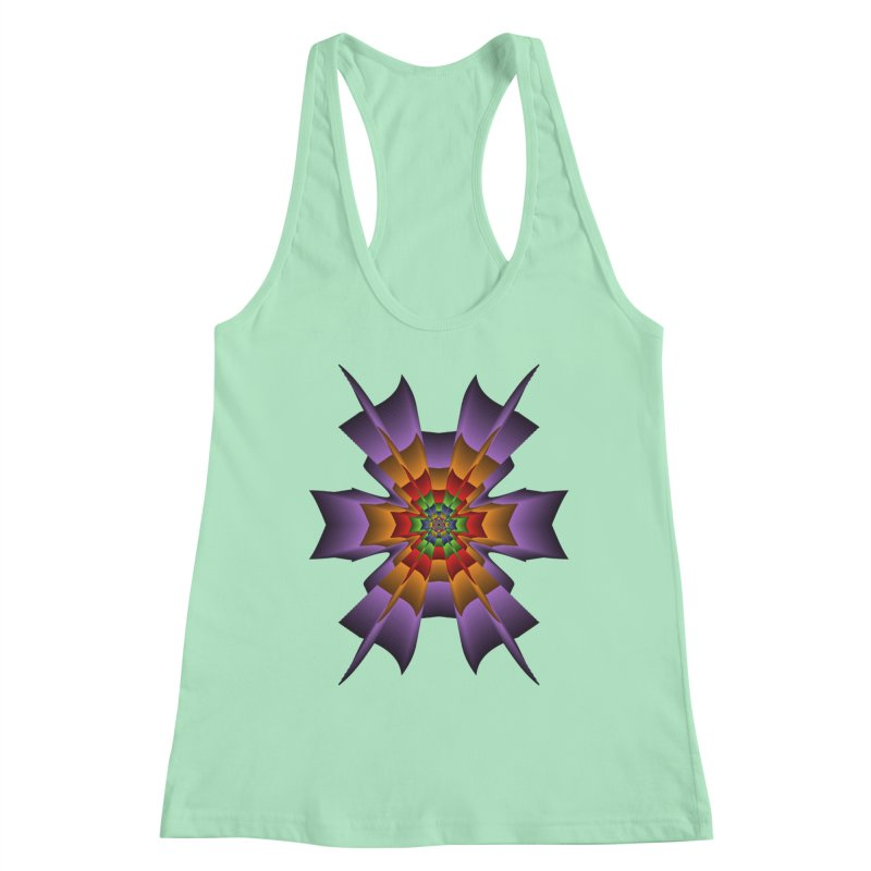 145 Women's Racerback Tank by nickaker's Artist Shop