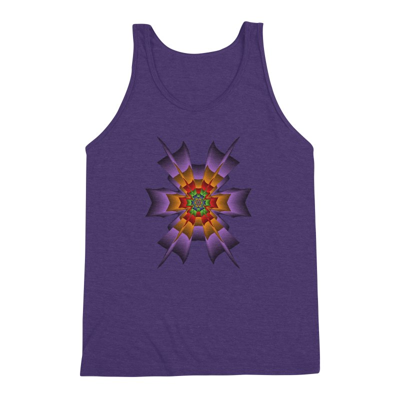 145 Men's Triblend Tank by nickaker's Artist Shop