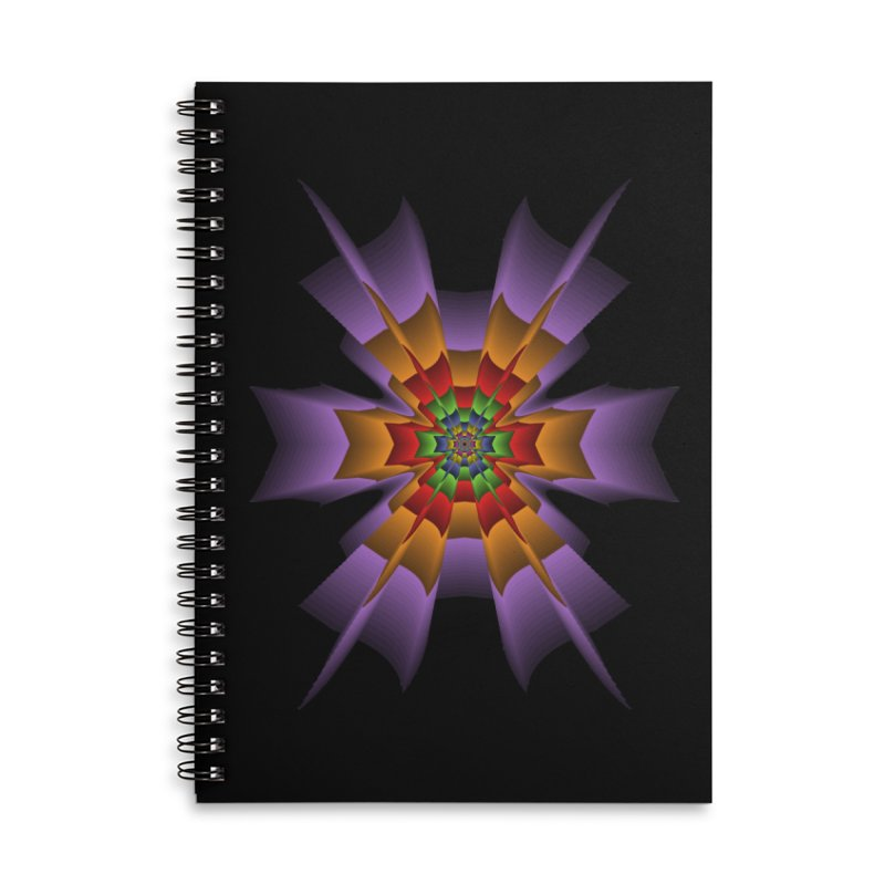 145 Accessories Lined Spiral Notebook by nickaker's Artist Shop