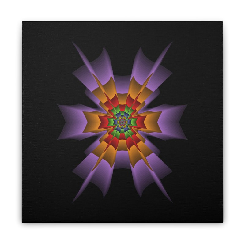 145 Home Stretched Canvas by nickaker's Artist Shop