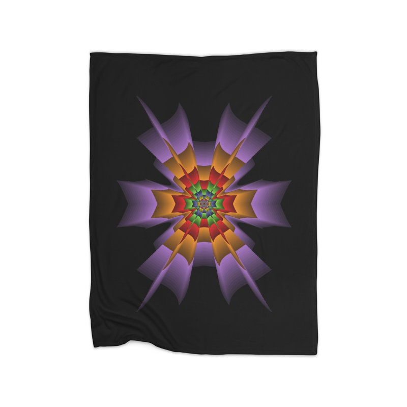 145 Home Fleece Blanket Blanket by nickaker's Artist Shop