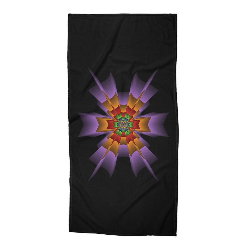 145 Accessories Beach Towel by nickaker's Artist Shop