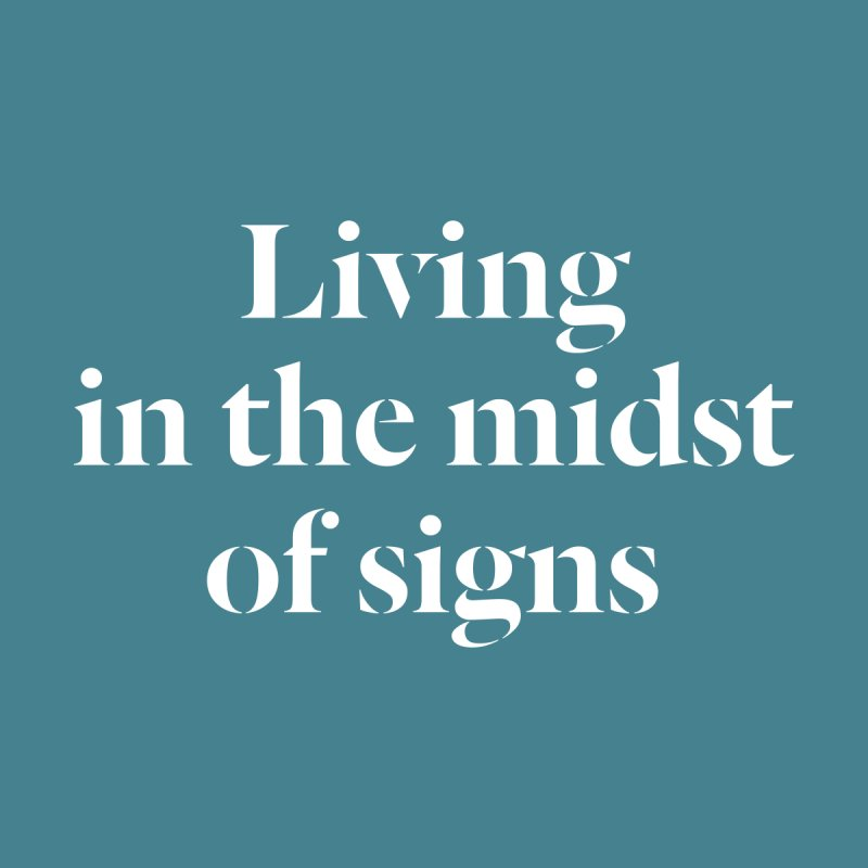 midst of signs by Nick Di Stefano's Shop