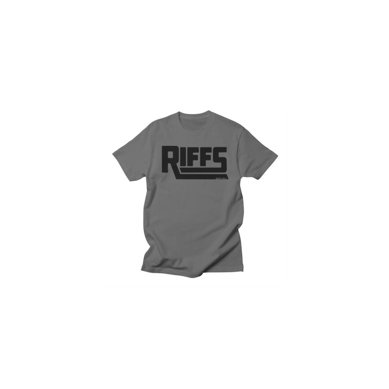 RIFFS logo T-Shirt Men's T-Shirt by Nick Hill