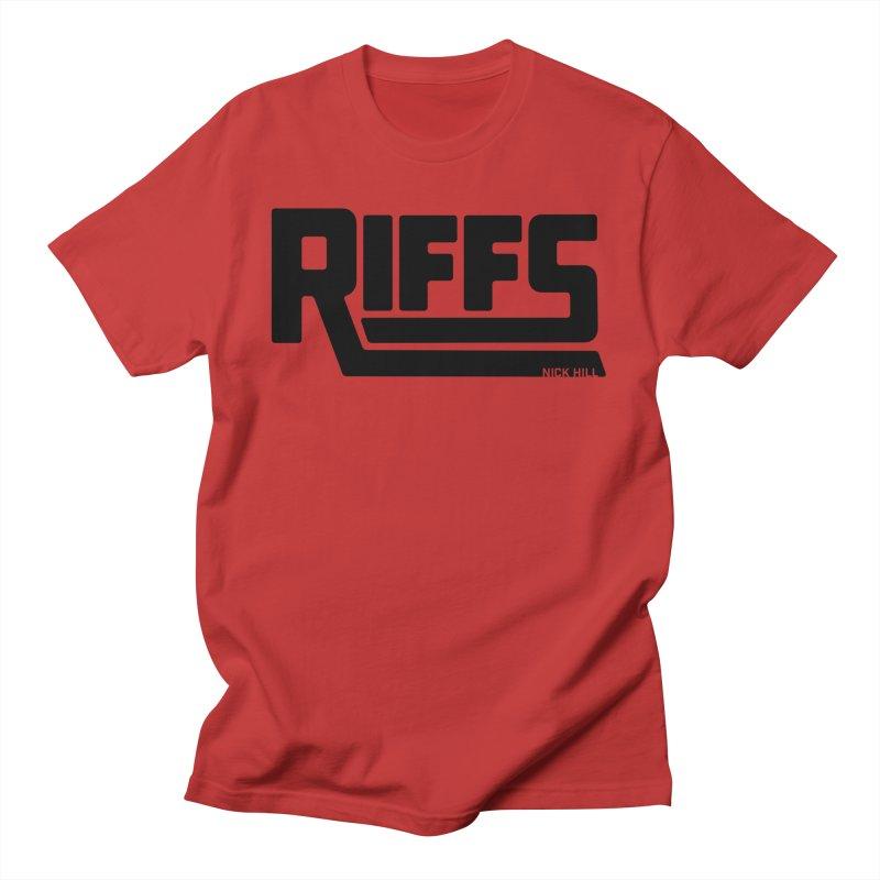 RIFFS logo T-Shirt Men's T-Shirt by Nick Hill