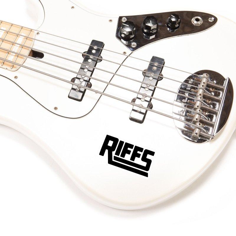 RIFFS logo T-Shirt Accessories Sticker by Nick Hill