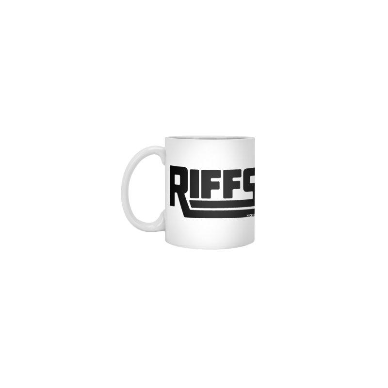 RIFFS logo MUG Accessories Mug by Nick Hill