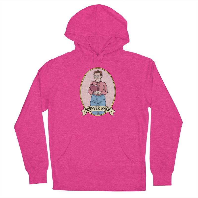 "Stranger Things ""Forever Barb"" Men's French Terry Pullover Hoody by Nick Lacke's Shirt Shop"