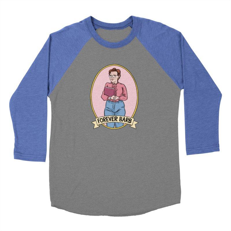 "Stranger Things ""Forever Barb"" Women's Baseball Triblend Longsleeve T-Shirt by Nick Lacke's Shirt Shop"