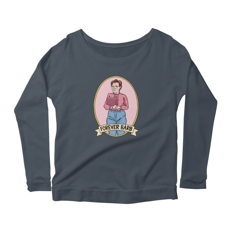 "Stranger Things ""Forever Barb"" Women's Scoop Neck Longsleeve T-Shirt by Nick Lacke's Shirt Shop"