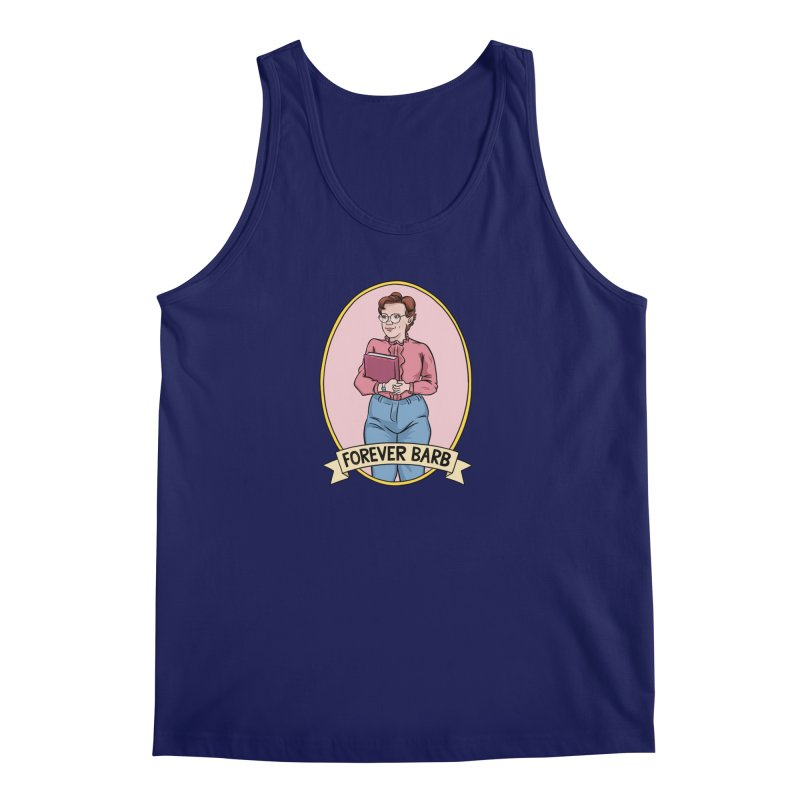 "Stranger Things ""Forever Barb"" Men's Tank by Nick Lacke's Shirt Shop"