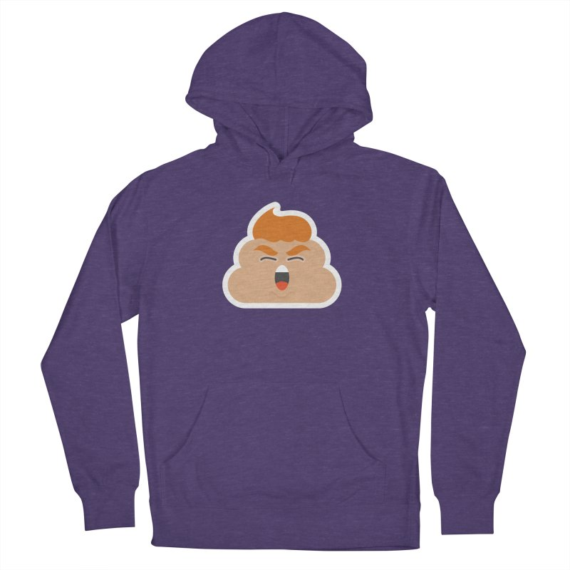 Donald Dump Men's French Terry Pullover Hoody by Nick Lacke's Shirt Shop