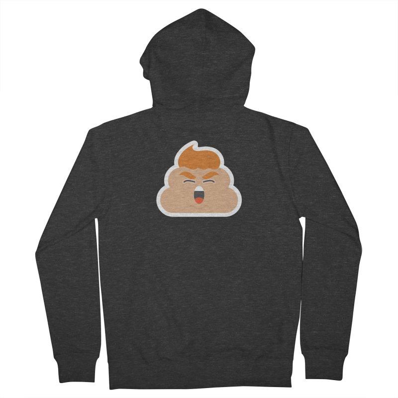 Donald Dump Men's French Terry Zip-Up Hoody by Nick Lacke's Shirt Shop