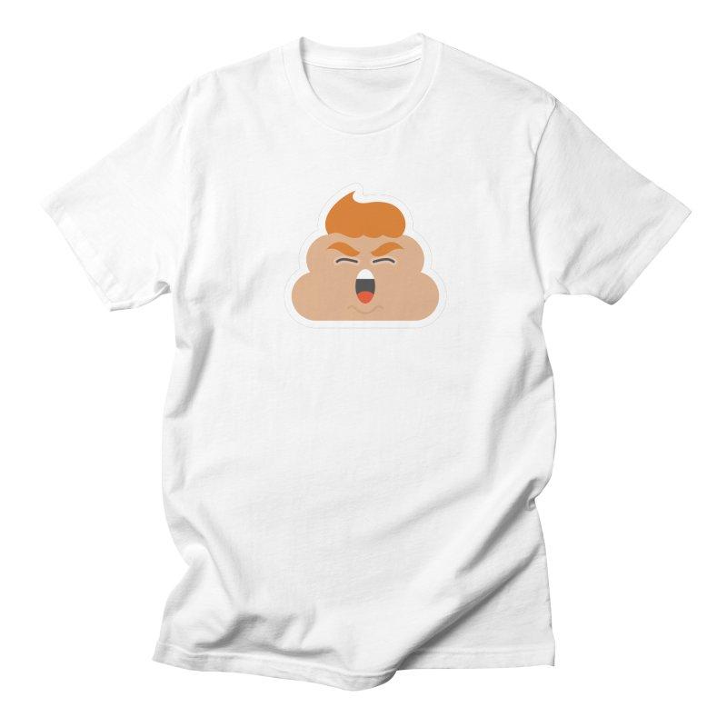Donald Dump Men's Regular T-Shirt by Nick Lacke's Shirt Shop